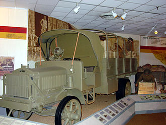 "U.S. Army Transportation Museum - A ""Liberty truck"", the first standardized US army truck"