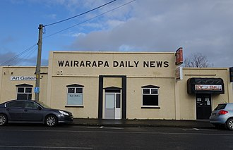 Carterton, New Zealand - Newspaper offices