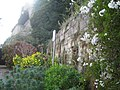 Wall to Warwick castle from Mill Street 3.JPG