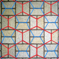 Wallpaper group-p4g-with Cairo pentagonal tiling.png
