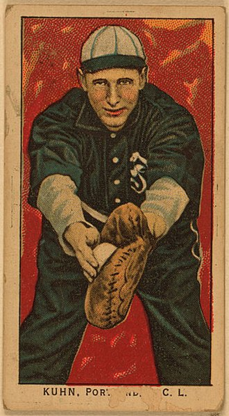 Walt Kuhn (baseball) - Kuhn played four seasons in the minor leagues before breaking into the majors in 1912.