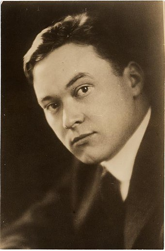 1914年のウォルター・リップマン