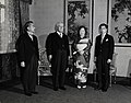 Walter Nash with Emperor, Empress and Crown Prince, Japan, Feb 20 1959.jpg