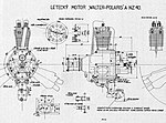 Walter Polaris, skica motoru.jpg