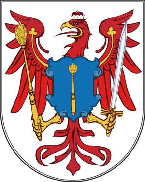 Arms of the electorate of Brandenburg, later a...