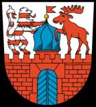 Das Wappen von Neustadt (Dosse)