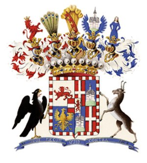 Franz, Count of Meran - Arms of the Count of Meran