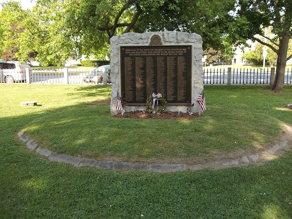 War Memorial Colburn Park Lebanon NH June 2016