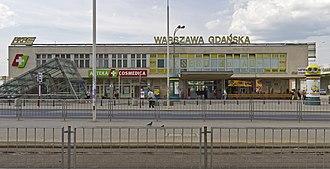 Warszawa Gdańska station - Image: Warsaw 07 13 img 36 Gdansk Station