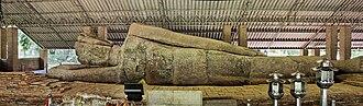 History of Thailand - A 13 meter long reclining Buddha, Nakhon Ratchasima