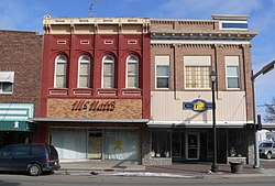 Wayne's commercial district is listed in the National Register of Historic Places.[1]