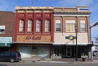 Wayne, Nebraska - Wayne's commercial district is listed in the National Register of Historic Places.
