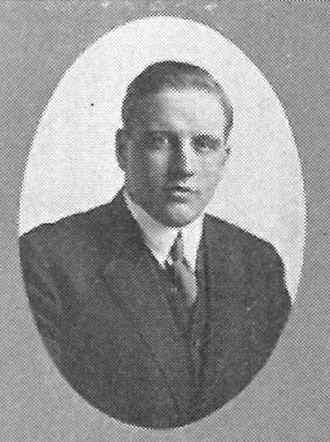 Wayne Sutton - Sutton pictured in the Tyee 1914, Washington yearbook
