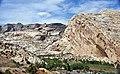Weber Sandstone (Pennsylvanian-Permian; Split Mountain, Dinosaur National Monument, Utah, USA) 5 (48809143847).jpg