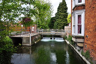 River Slea - Slea in Sleaford