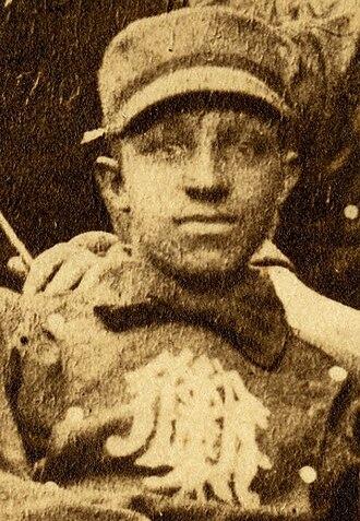 Weldy Walker - Weldy Walker cropped from 1883 team portrait