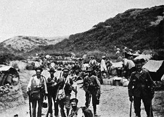 New Zealand Mounted Rifles Brigade - Wellington Mounted Rifles after Chunuck Bair