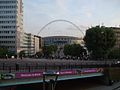 Wembley Park stn looking to Wembley Stadium.JPG