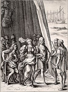 Wenceslas Hollar - Briseis and Achilles crop.jpg