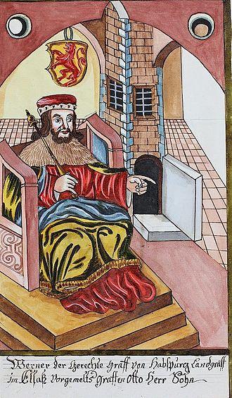 Werner II, Count of Habsburg - Image: Werner II, count of Habsburg