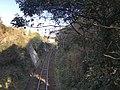 West Kyushu Line on west side of Tabira-Hiradoguchi Station.jpg