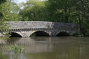 Ringwood - Old bridge over the River Avon