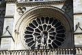 West rose window of Notre-Dame de Paris, 13 April 2015.jpg
