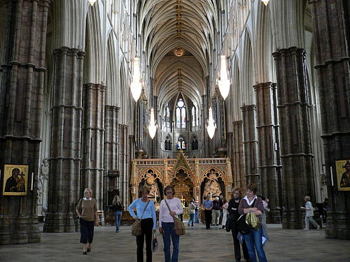 The Nave of Westminster Abbey Westminster Abbey Interior.jpg