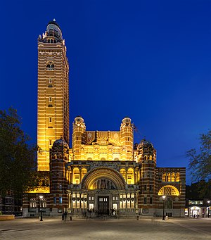 Westminster Cathedral at Dusk, London, UK - Diliff.jpg