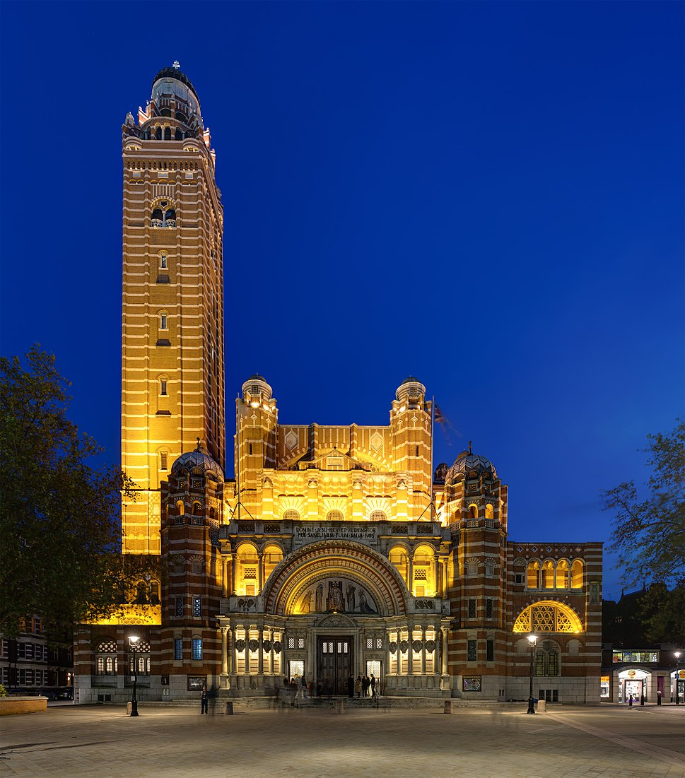 Westminster Cathedral at Dusk, London, UK - Diliff