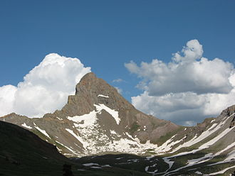 Uncompahgre National Forest - Wetterhorn Peak in Uncompahgre National Forest