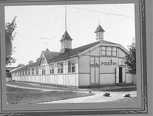 Poultry Building, Western Fair 1923.