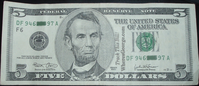File:Wheres George 5 Dollar Bill.png