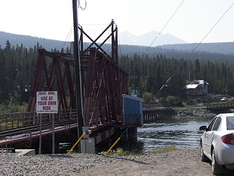 White Pass and Yukon Route bridge from Carcross, Yukon 2.jpg