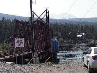 White Pass and Yukon Route bridge from Carcross, Yukon 2.jpg