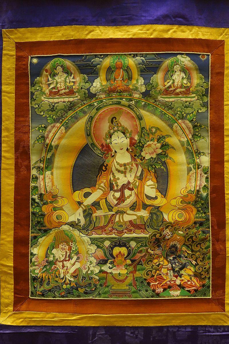 White Tara, Tibet, 1644-1911 AD - Sichuan Provincial Museum - Chengdu, China - DSC04498.jpg