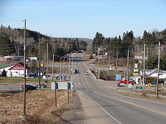 South Algonquin - Highway 60 in Whitney.