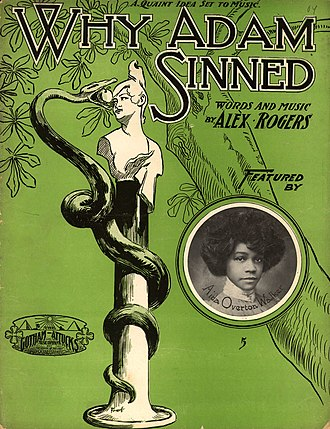 1904 in music - Image: Why Adam Sinned 1904