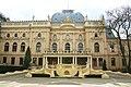Widok z dziedzińca pałacu Poznańskiego 01.JPG