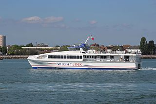 HSC <i>Wight Ryder I</i> Isle of Wight passenger catamaran