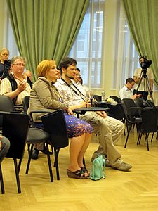 Wiki Party in Moscow 2013-05-18 (Wiki Award; Krassotkin; 02).JPG