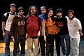 Wikimania 2009 - Richard Stallman en el teatro Alvear con asistentes (1).jpg