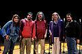 Wikimania 2009 - Richard Stallman en el teatro Alvear con asistentes (23).jpg