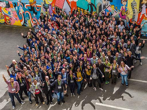 Wikimedia Conference 2016 – Group photo