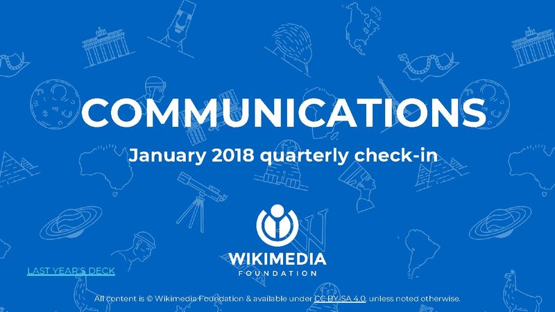 File:Wikimedia Foundation Communications Q2 Q3 January 2018 quarterly check-in.pdf