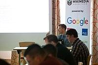 Wikimedia Hackathon Vienna 2017-05-19 Fantastic MediaWikis 014.jpg