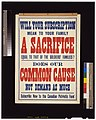 Will your subscription mean to your family a sacrifice equal to that of the soldiers' families? Does our common cause not demand as much(?) Subscribe now to the Canadian Patriotic Fund LCCN2005691271.jpg
