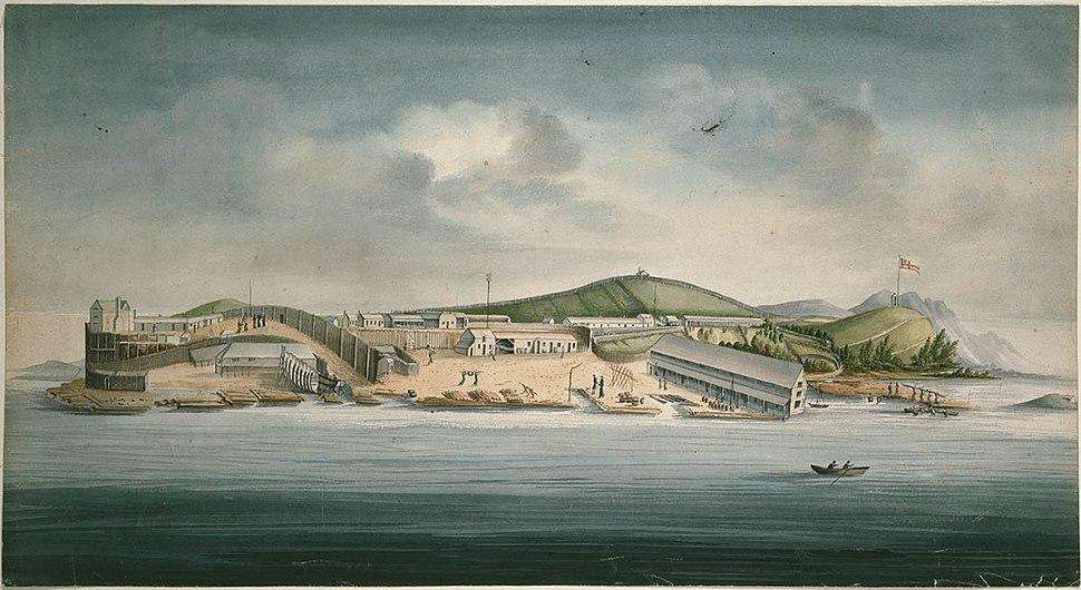 William Buelow Gould Macquarie Harbour
