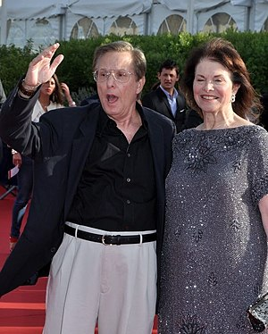 Sherry Lansing - Lansing, right, with William Friedkin at the 2012 Deauville American Film Festival.