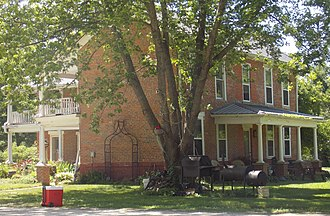 National Register of Historic Places listings in Cedar County, Iowa - Image: William Green House Rochester, Iowa